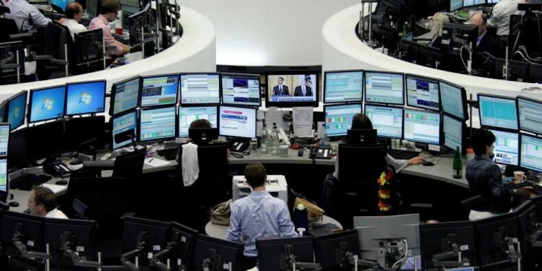 Hausse modérée des marchés européens à la mi-séance