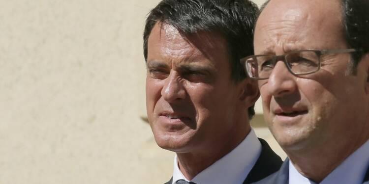 Hollande perd encore quatre points de popularité