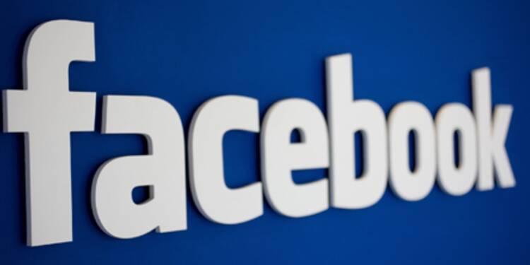 Facebook : afflux d'actions sur le marché, le titre dévisse