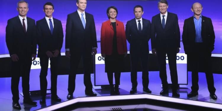 Dernier débat des candidats à la primaire, haro sur Macron