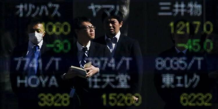 La Bourse de Tokyo finit en baisse de 0,91%