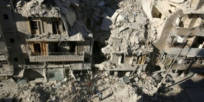 RPT-L'Est d'Alep à nouveau pilonné par l'aviation russe