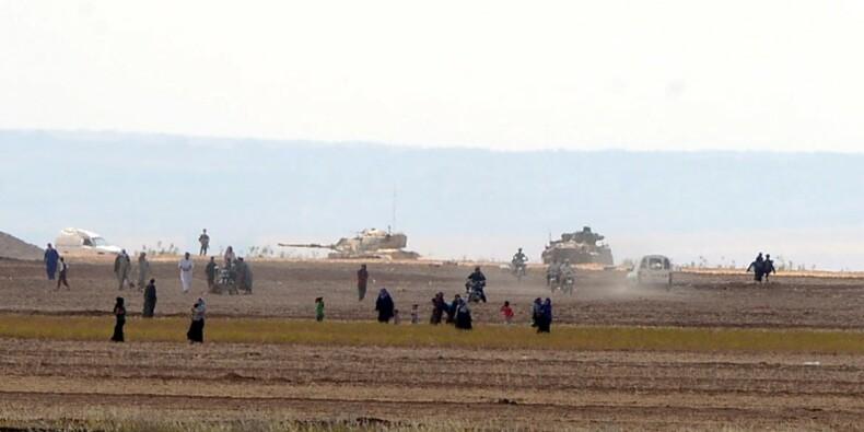 Les rebelles syriens ouvrent un nouveau front contre l'EI