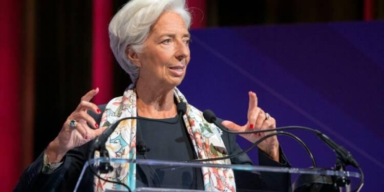 """Lagarde (FMI): le protectionnisme, """"une faute économique flagrante"""""""