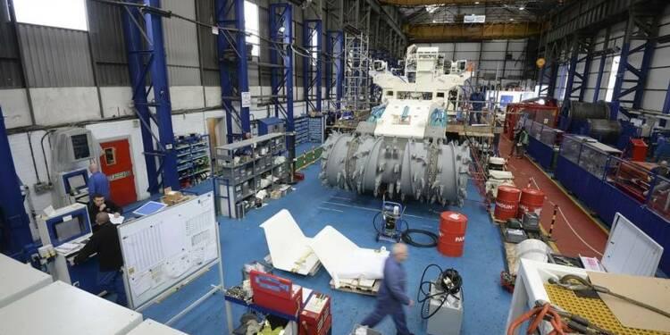 Baisse inattendue de la production industrielle britannique