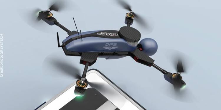 Voici le drone de surveillance qui décolle tout seul en cas d'alerte
