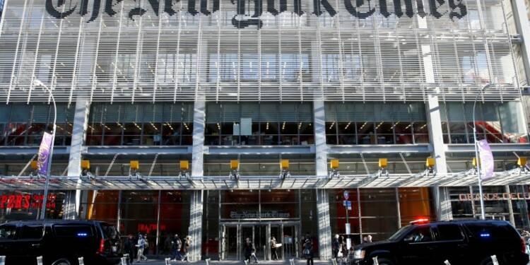 """Les sites des journaux américains profitent d'un """"effet Trump"""""""
