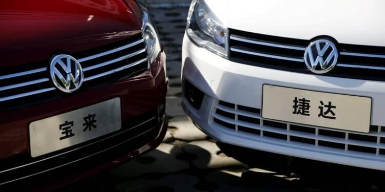 VW voit la croissance du marché auto chinois ralentir à 5% en 2017