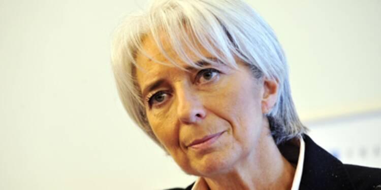 La directrice du FMI, Christine Lagarde, n'est pas très optimiste pour 2016