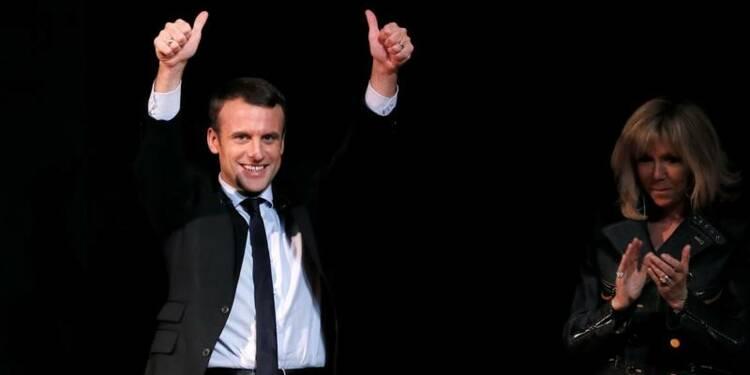 Macron en passe de gagner son pari?