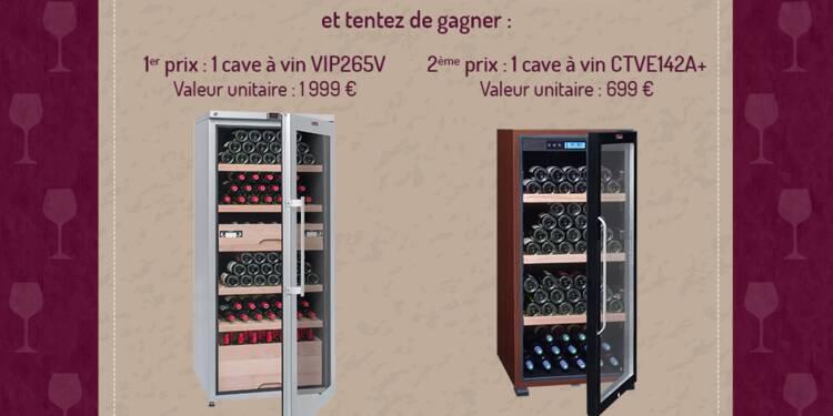 Jeu concours Capital - La Sommelière : deux caves à vin à gagner !