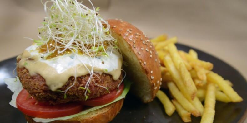 Le burger figure à la carte de 75% des restaurant français
