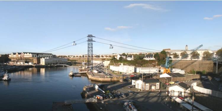 Un téléphérique urbain à Brest, grande première en France