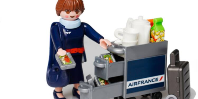 Air France crée… son Playmobil !