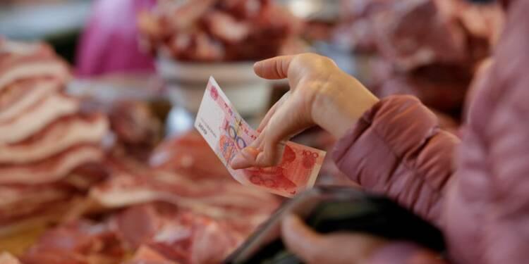L'inflation chinoise en hausse à 2,1% en octobre