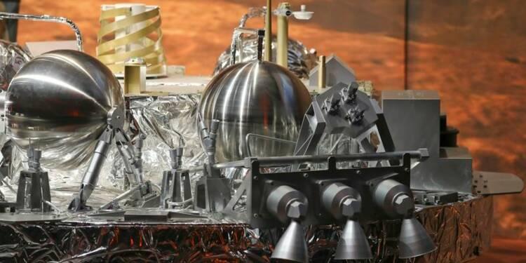 Le module européen Schiaparelli s'est écrasé sur Mars