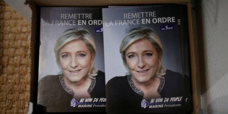 Le Pen (25%) devancerait Macron (21%) et Fillon (20%), selon Opinionway