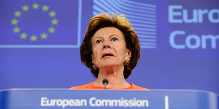 L'ex-commissaire européenne Neelie Kroes était directrice d'une société offshore