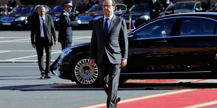 """Hollande rappelle qu'il a """"un calendrier"""" pour 2017"""
