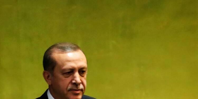 Erdogan veut associer la Turquie à l'offensive sur Rakka