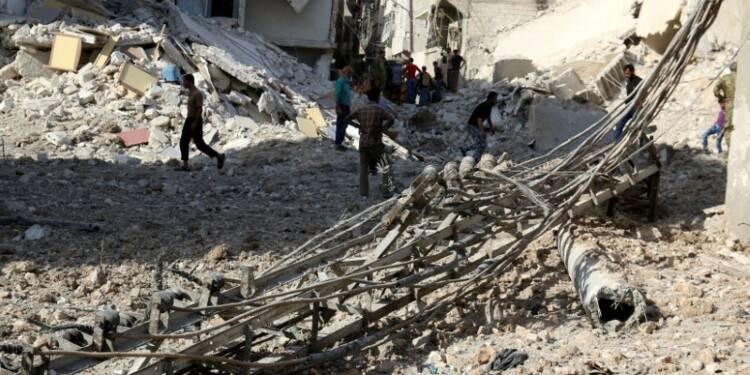 Alep toujours pilonnée, la diplomatie dans l'impasse