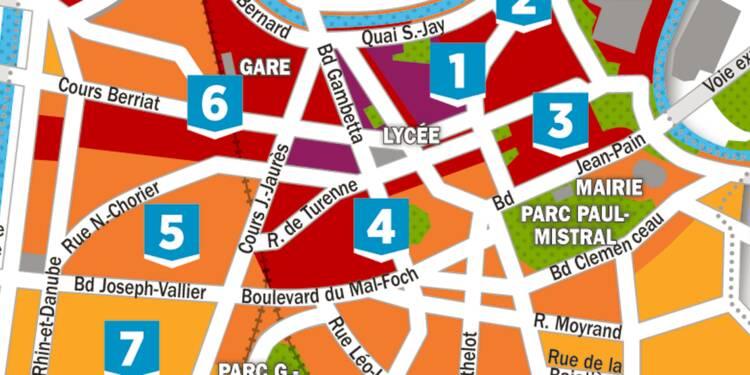 Immobilier : la carte des prix à Grenoble