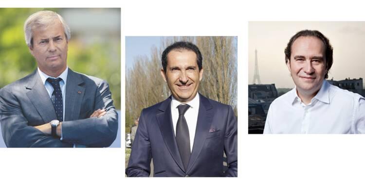 Bolloré, Niel, Drahi... quels seraient leurs programmes pour la France ?