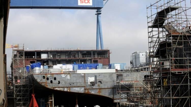 STX Saint-Nazaire : DCNS serait aussi candidat à la reprise