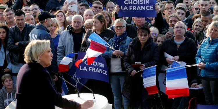 Le Pen chute largement après le débat, selon un sondage Ipsos-Sopra Steria