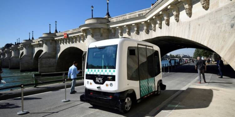 La RATP va tester des minibus sans chauffeur pendant deux ans