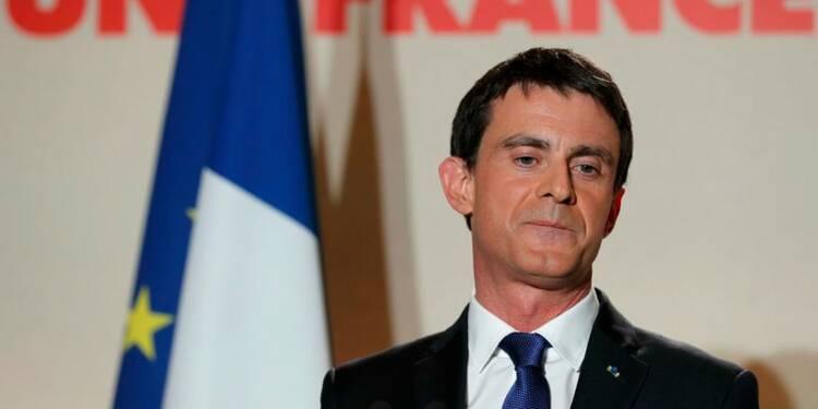 Hamon est le candidat de notre famille politique, dit Valls