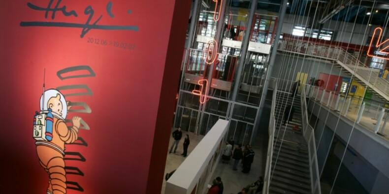 Une planche de Tintin vendue plus de 1,5 million d'euros