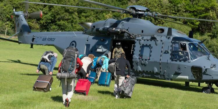 Fortes répliques en Nouvelle-Zélande, des touristes évacués