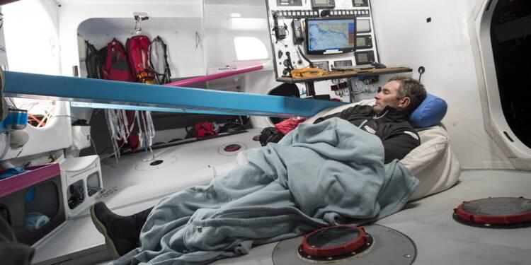 Vendée Globe : « Pendant trois mois, je dors entre zéro et cinq heures par jour »