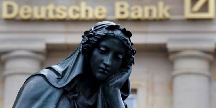 Pas de plan d'urgence pour Deutsche Bank en préparation