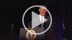 Barack Obama : les larmes de son discours d'adieu