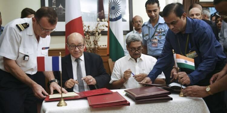 La France et l'Inde concluent la vente de 36 Rafale à New Delhi
