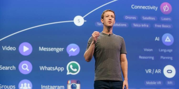 """Avec les """"chatbots"""", Facebook s'attaque au e-commerce"""