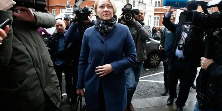 Julian Assange interrogé à l'ambassade d'Equateur à Londres