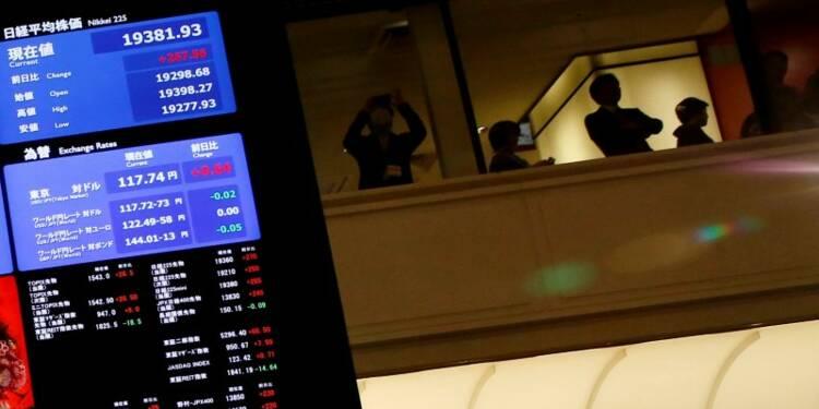 La Bourse de Tokyo finit en baisse de 0,45%