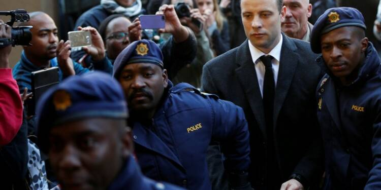 Rejet de l'appel contre la condamnation de Pistorius