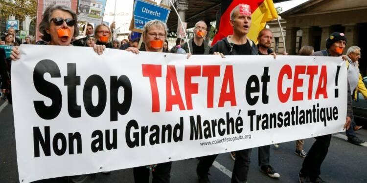 Libre-échange: faible mobilisation en France contre le Ceta