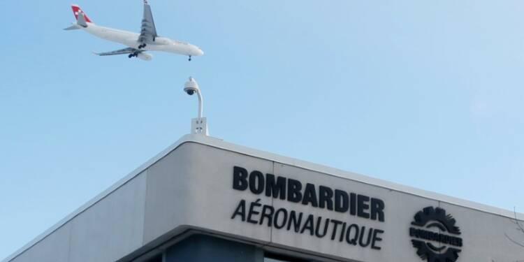 Une demande en demi-teinte a pesé sur le chiffre d'affaires de Bombardier