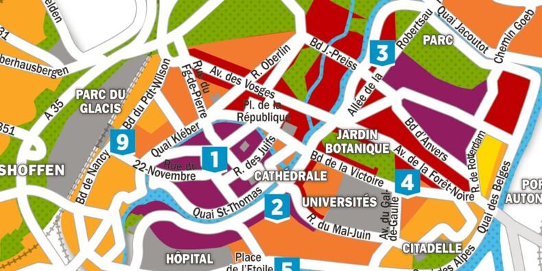 Immobilier : la carte des prix à Strasbourg