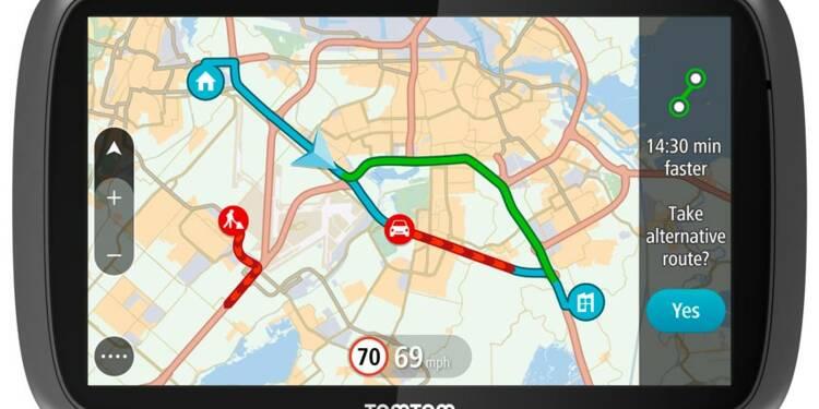 TomTom toujours plombé par la crise du GPS