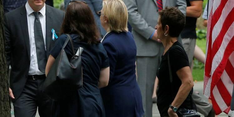 11-Septembre: Clinton victime d'un malaise dû à la chaleur