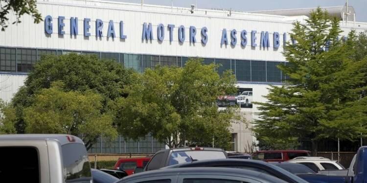 GM annonce le rappel de 4,3 millions de véhicules dans le monde