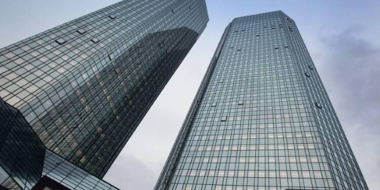 Les valeurs bancaires européennes chutent dans le sillage de Deutsche Bank