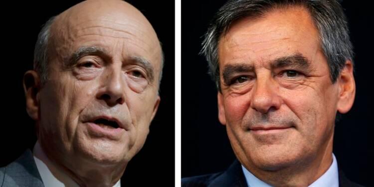 Juppé attaque Fillon sur l'économie et le sociétal