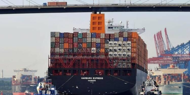 La croissance des exportations allemandes revue en baisse